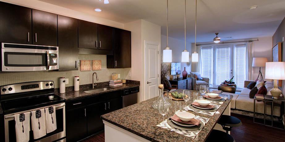 Enjoy the beautiful kitchen amenities including granite countertops