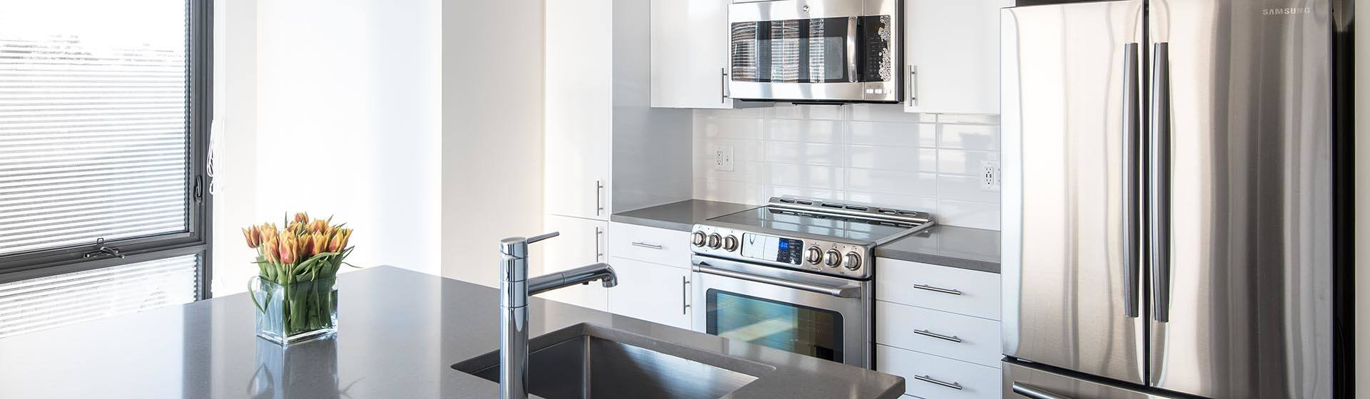 Modern apartments for rent in Washington D.C., with luxurious amenities