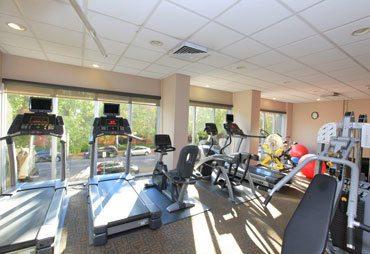 St Louis apartments fitness center