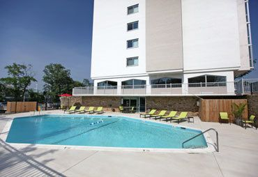 Towson apartments offering a swimming pool