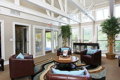 Interior view of our Orlando apartments
