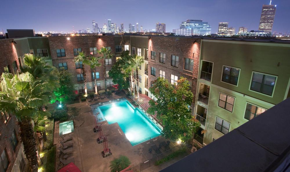 Houston Texas apartment exterior