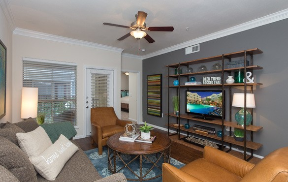 Houston apartment features