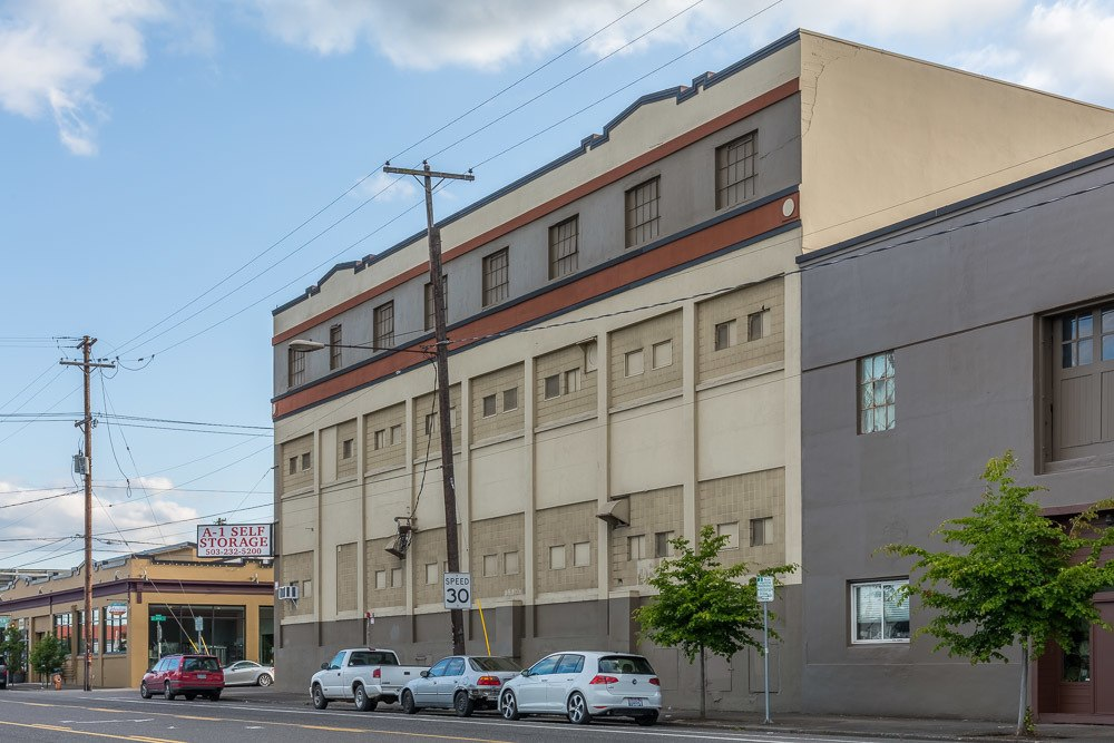 Exterior of our facility in Portland, OR.