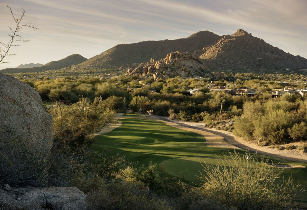 Spend time on the golf course in Scottsdale