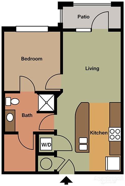 1 bedroom - 1 Bedroom Apartments In Tn
