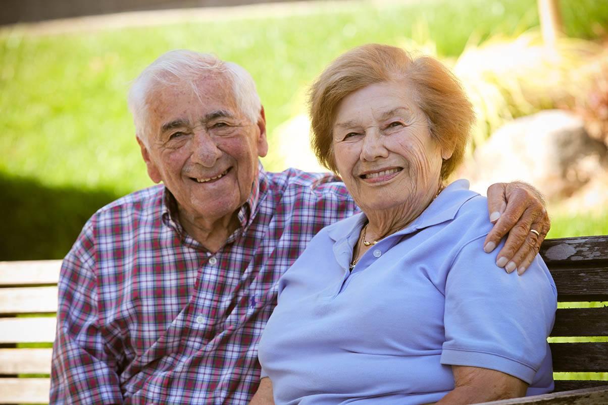 Relax Outside At Senior Living In Greensboro North Carolina