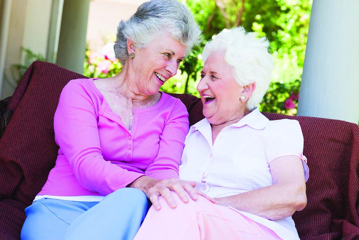 Happy senior women having a great day at Magnolia Glen