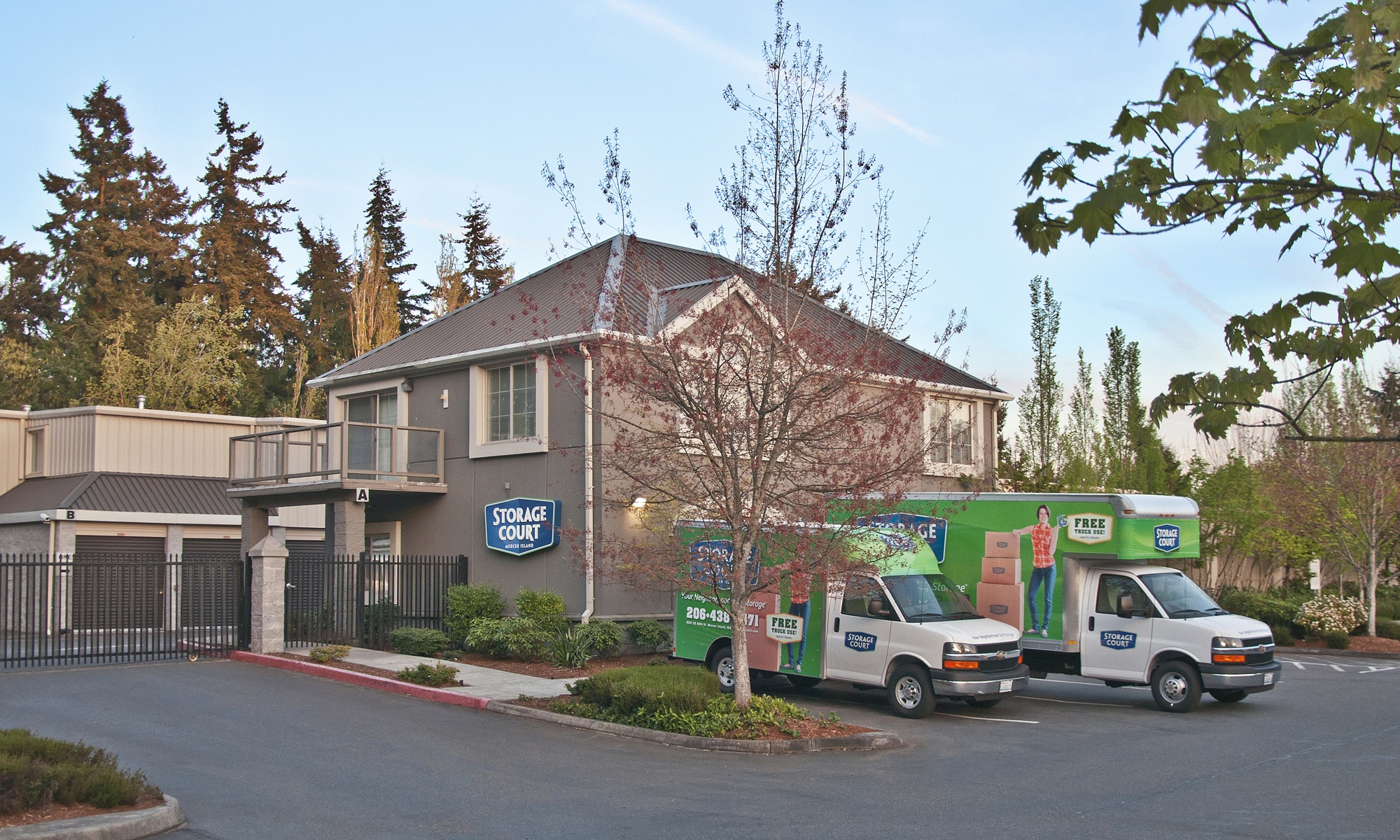 Self storage in Mercer Island WA