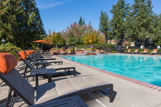 Apartments in Beaverton features a pool