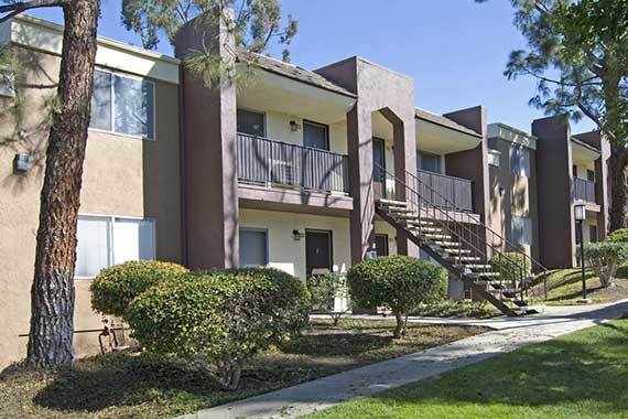Exterior At Our Apartments In Poway