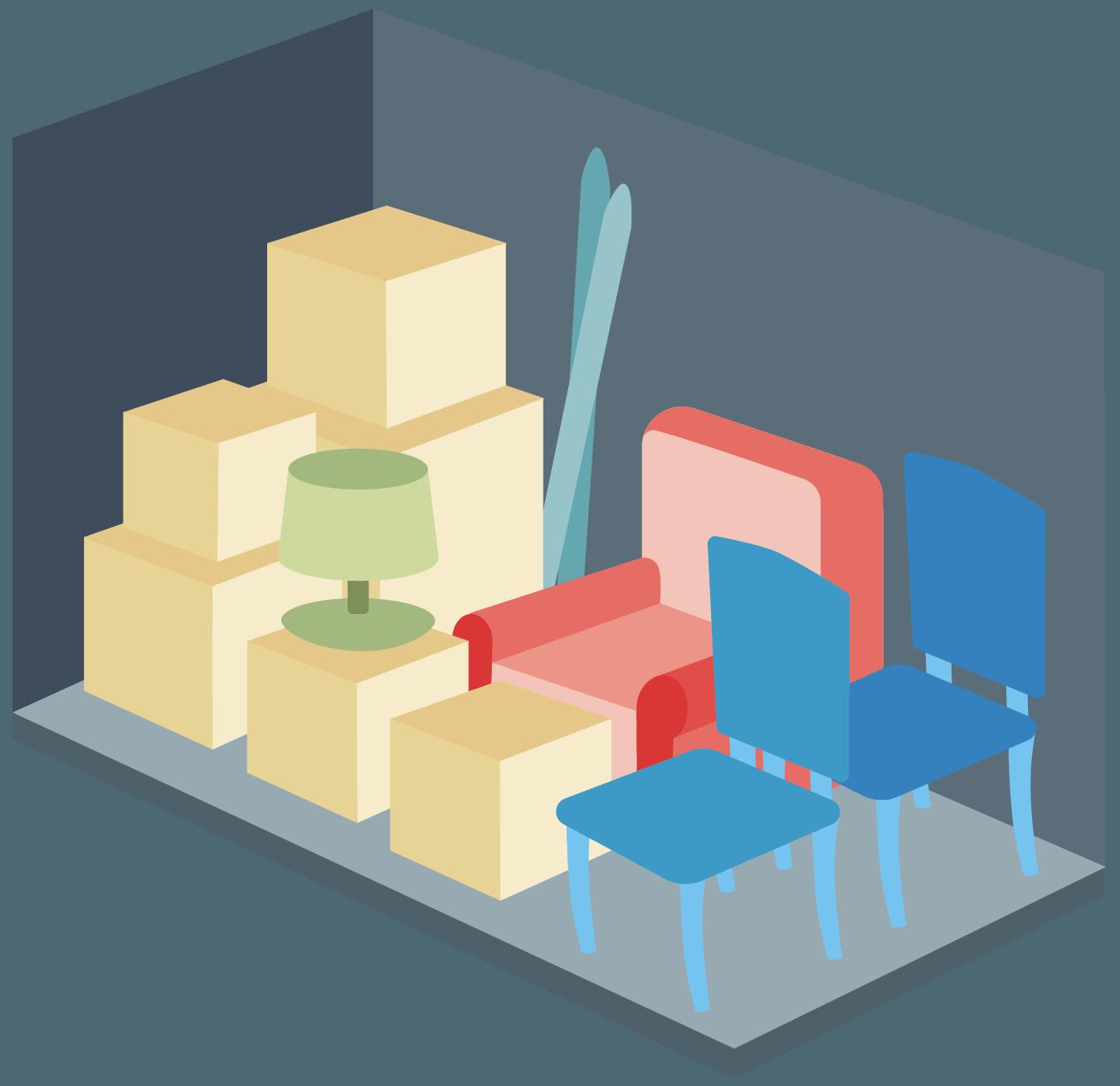 5x10 Storage Units