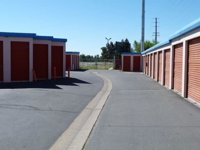 ... Wide Drive Ways At The Self Storage Facility In Sacramento