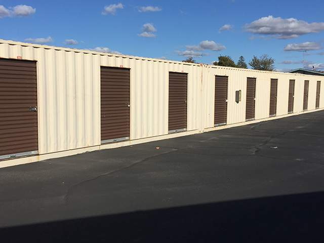 Exterior Units at the Self Storage facility in Sacramento