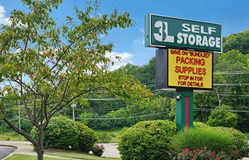 Fort Wright Self Storage Sign
