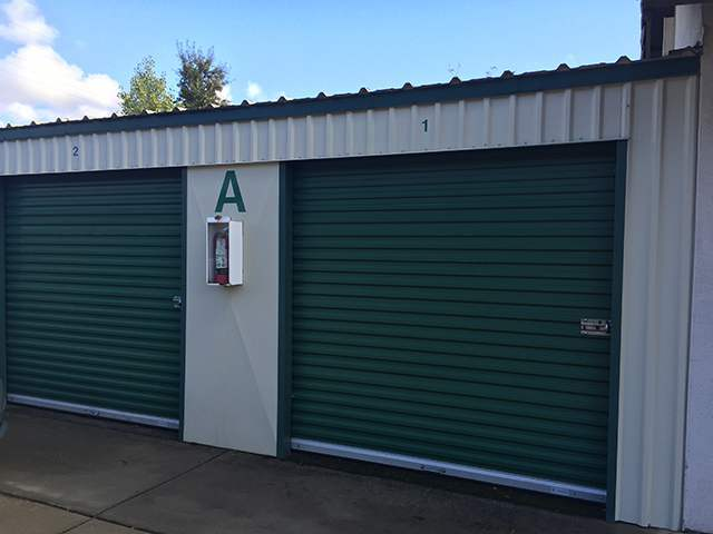 Beau ... Exterior Units At The Self Storage Facility In Cameron Park ...