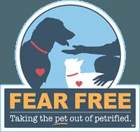 Fear Free logo at Kitsap Veterinary Hospital