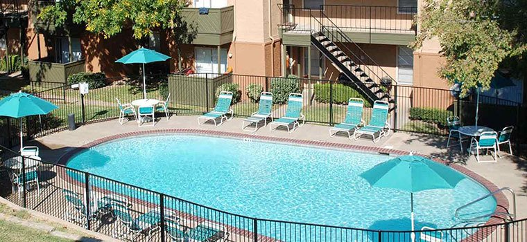 Residents love the woodburning fireplaces and other fantastic amenities at Pecan Creek Apartments