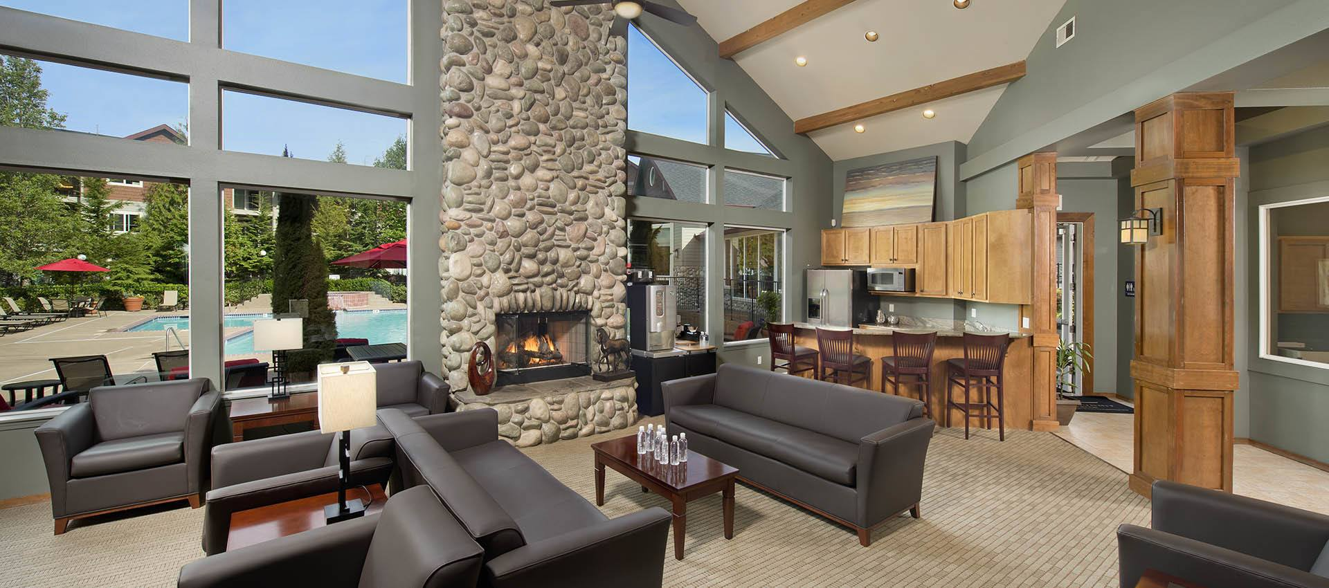Resident's Clubhouse With Kitchen at Altamont Summit in OR