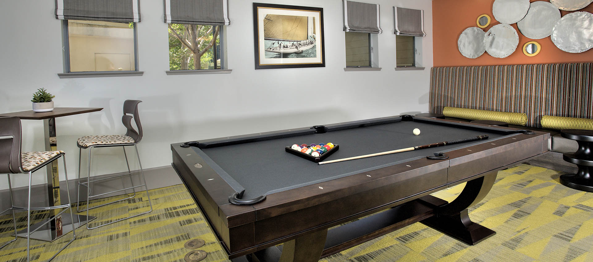 Billiards at Azure Apartment Homes