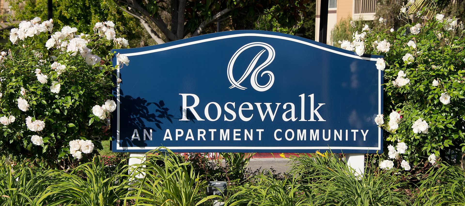 Signage at Rosewalk at San Jose