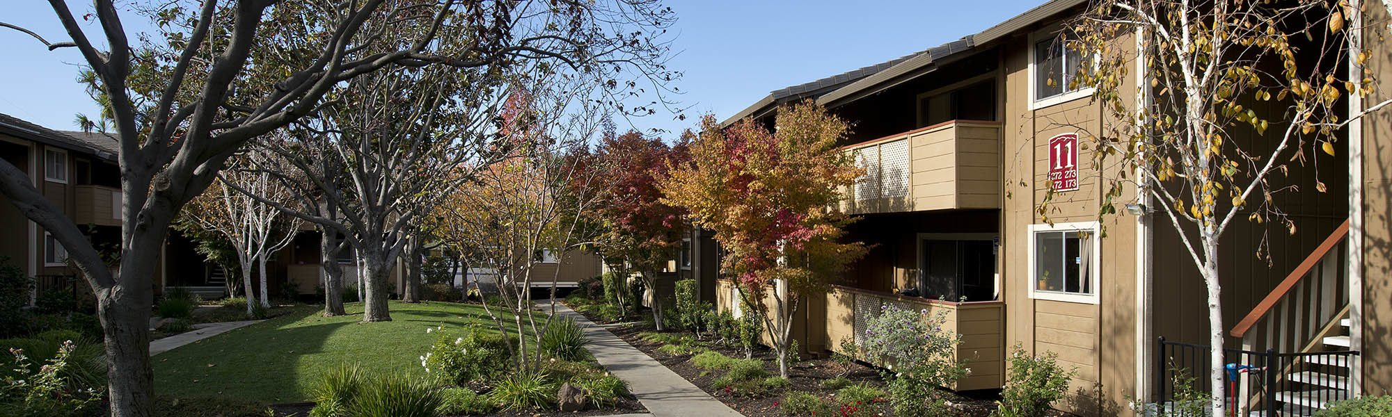 View photos of our luxurious property at Shadow Oaks Apartment Homes in Cupertino, CA