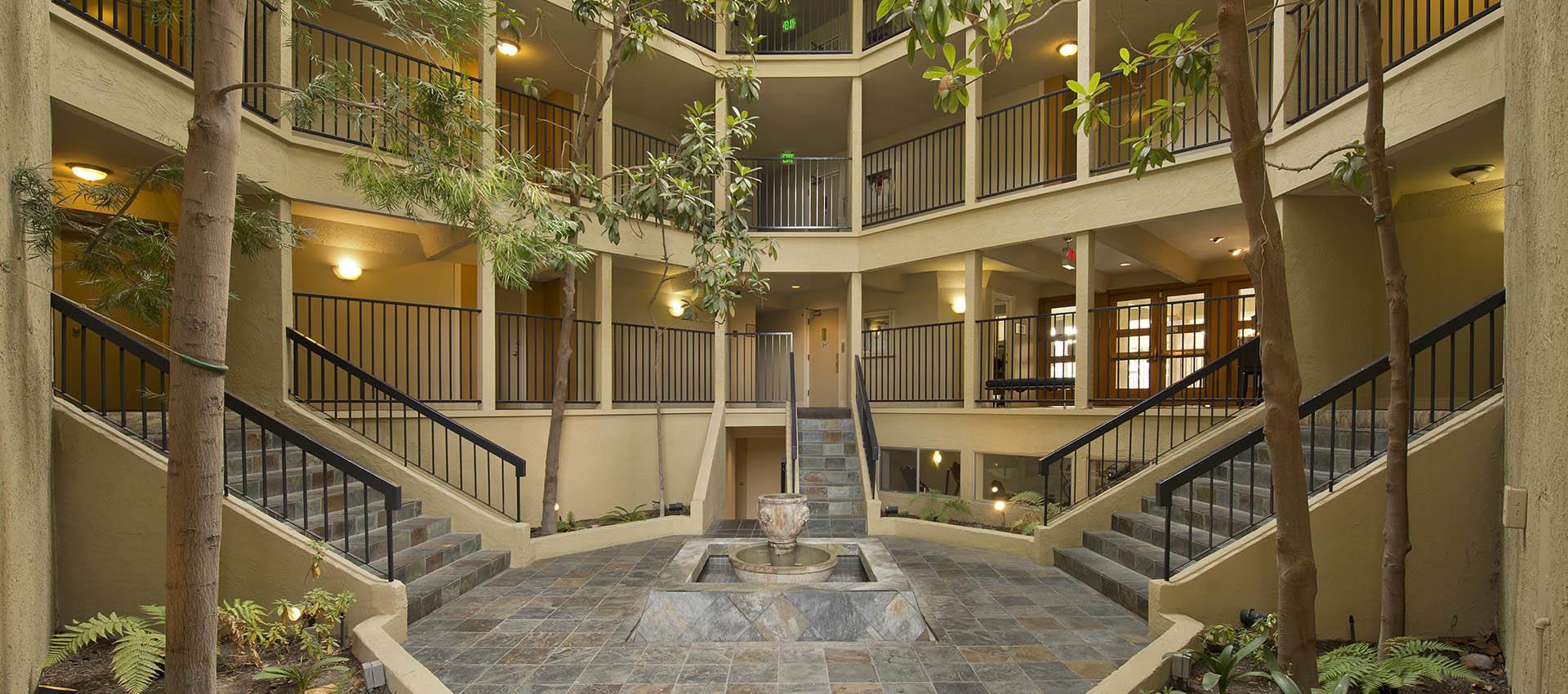 Atrium at Trinity House Apartment Homes in Walnut Creek