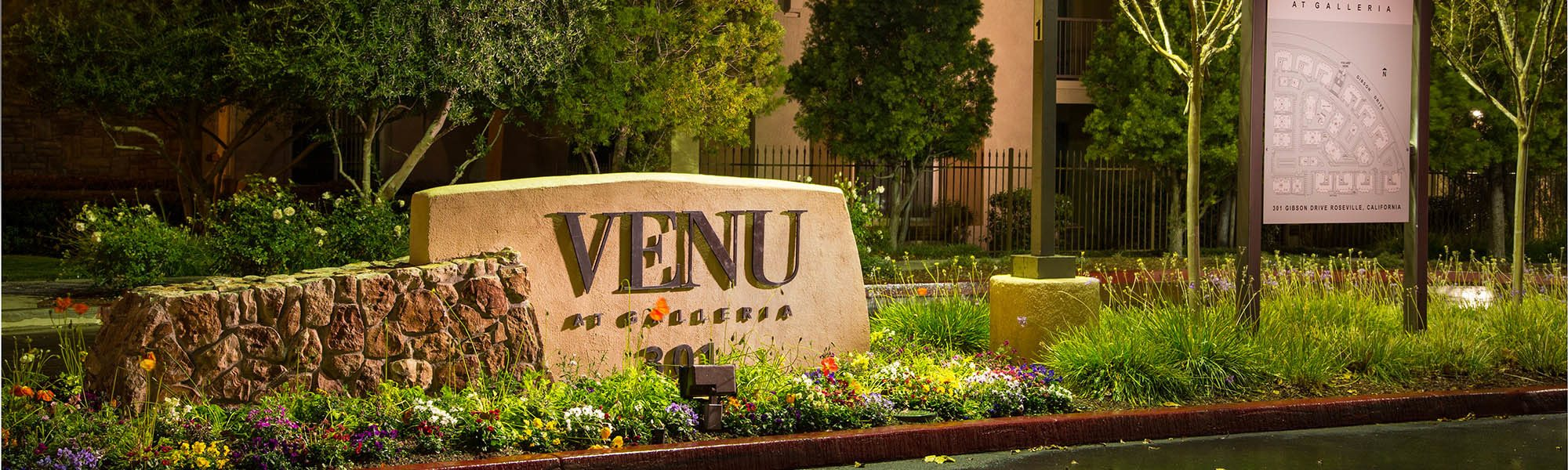 Learn about our neighborhood at Venu at Galleria Condominium Rentals in Roseville, CA on our website