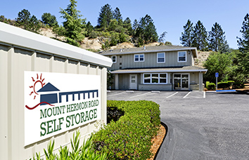 Visit our Mount Hermon Road Self Storage facility in Scotts Valley, CA.