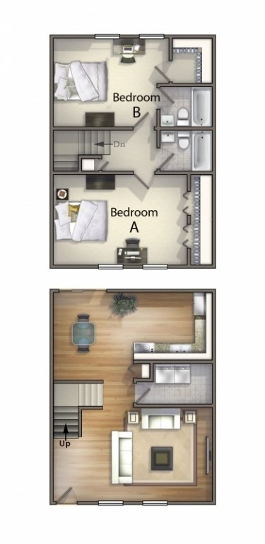 1, 2, 3 & 4 Bedroom Off Campus Student Housing in Carbondale, IL