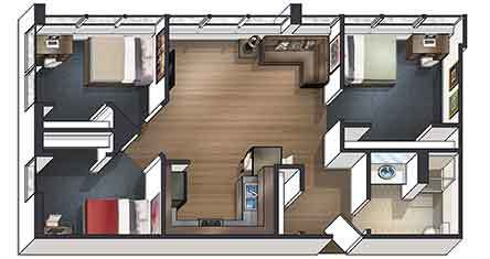 Swell 1 2 3 Bedroom Off Campus Student Housing In Dekalb Il Download Free Architecture Designs Intelgarnamadebymaigaardcom